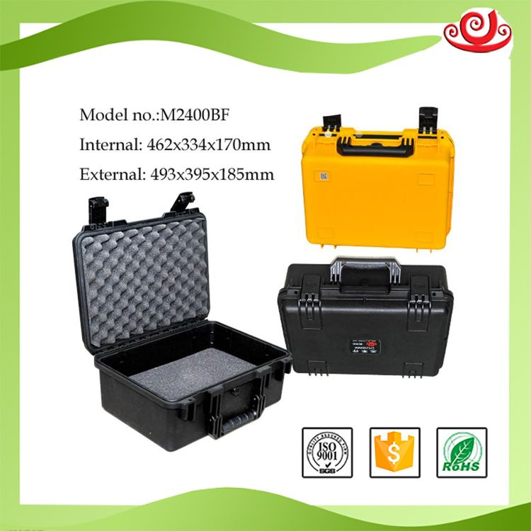Tricases high quality reasonable price IP67 plastic case eva short gun case M2400