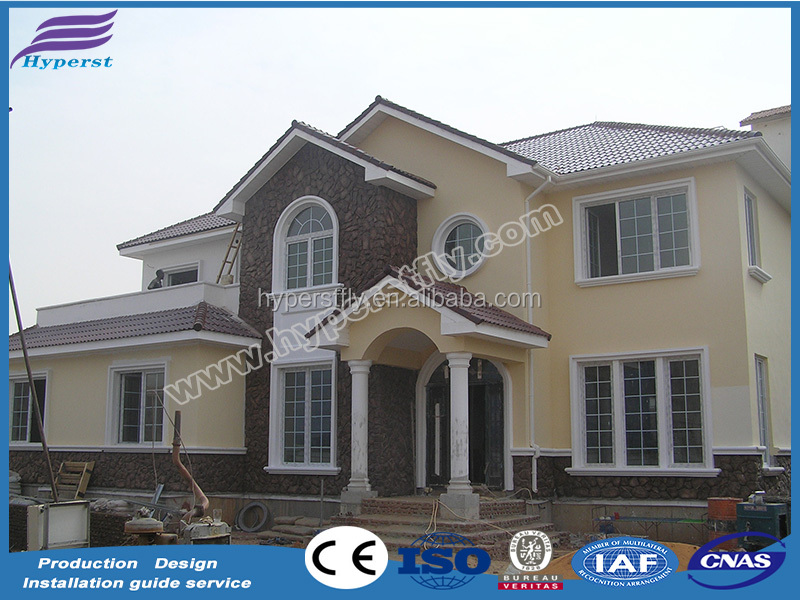 light steel structure house manufacture /cheap villa house