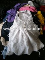 Second hand clothes - UK collection