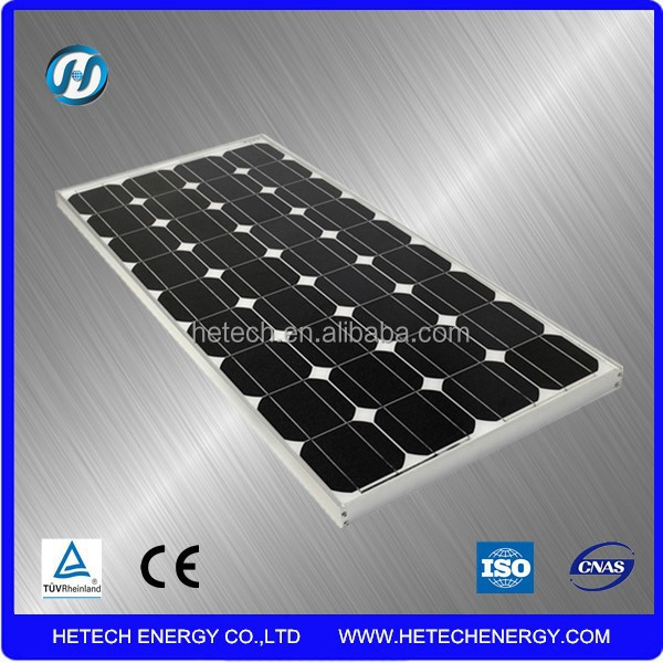Mono solar pv module 100wp from Chinese factory