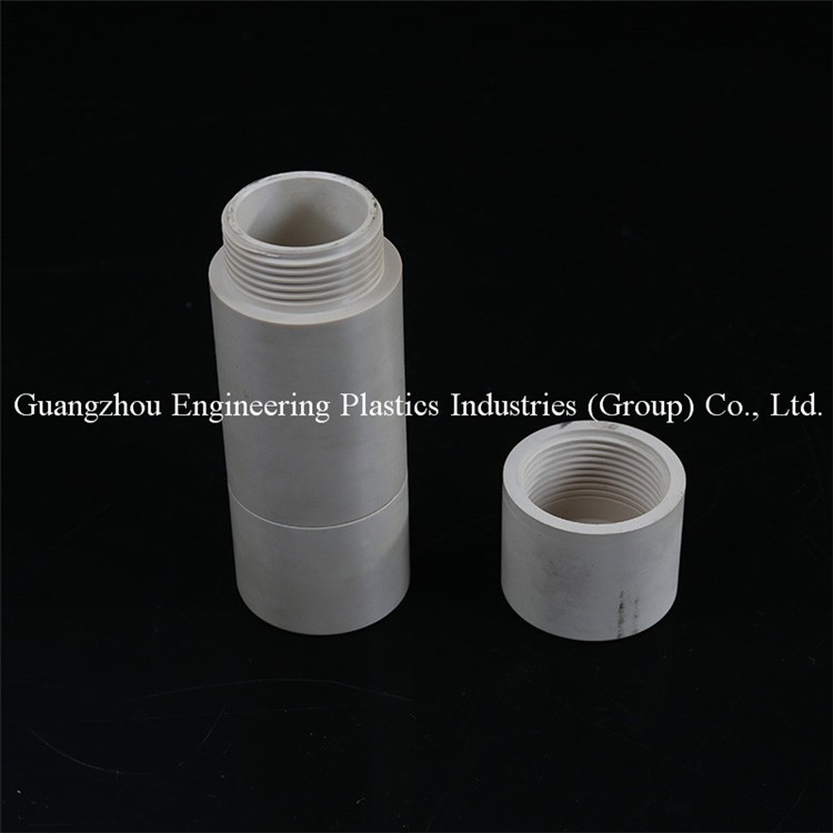 Guangzhou customized mechanical durable PEEK-CA30 peek injection molded parts as customer's drawing