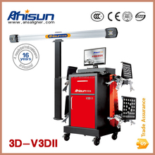 Automatic computer 3d wheel alignment equipment price