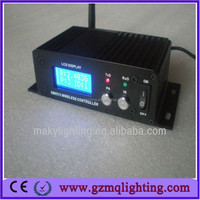 party stage lights controller/2.4G DMX LCD Wireless DMX512 receiver & transmitter