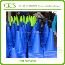 customized cardboard crepe rechargeable collapsible cone safety reflecting traffic cones