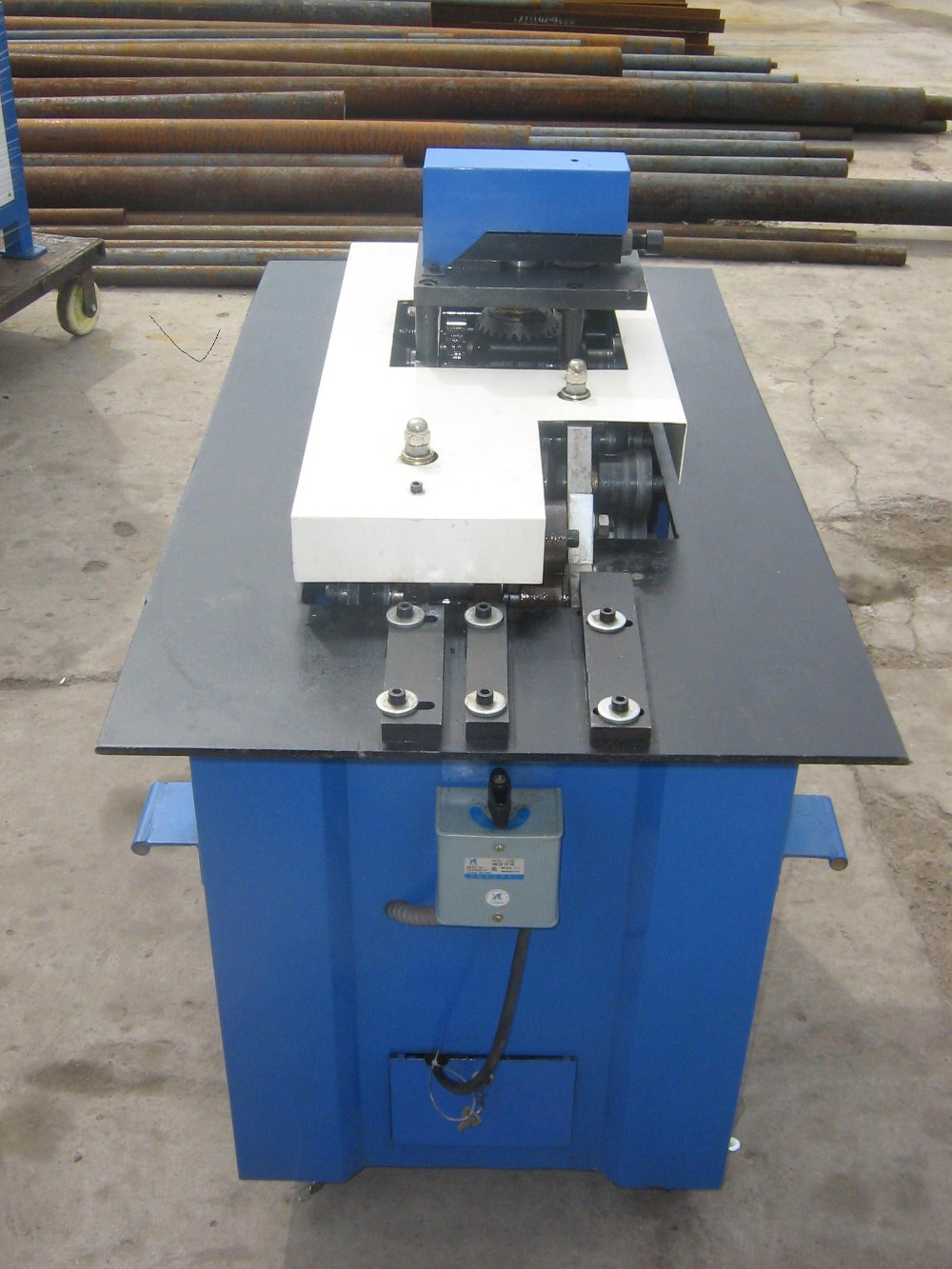 seven functions lock former machine,low price nip machine,multifunction lock forming machine
