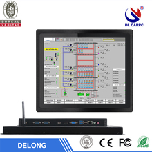 17 inch vga hd wifi resistive touch industrial all in one pc waterproof ip65 industrial panel pc