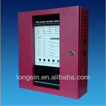 8 zone conventional fire alarm control panel for security LS-220-1