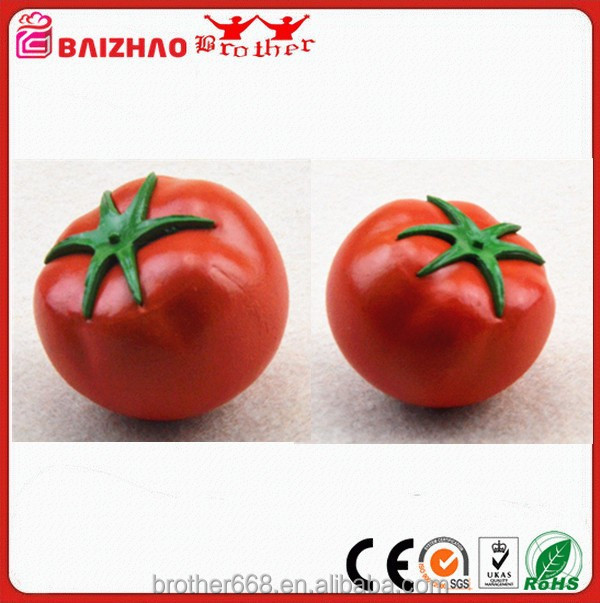 Realistic Artificial Red Tomato Fake Vegetable For Home Decoration