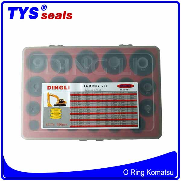 Excavator Rock Breaker Accessories DINGLI for Komatsu PC-60 PC-100 PC-200 PC-300 O Ring Kit