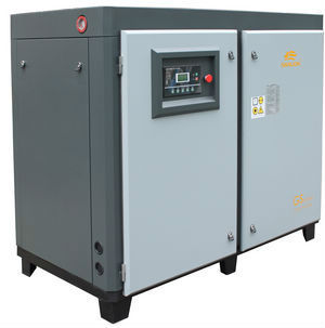 55KW/75HP Screw Air Compressor for Textile Industry