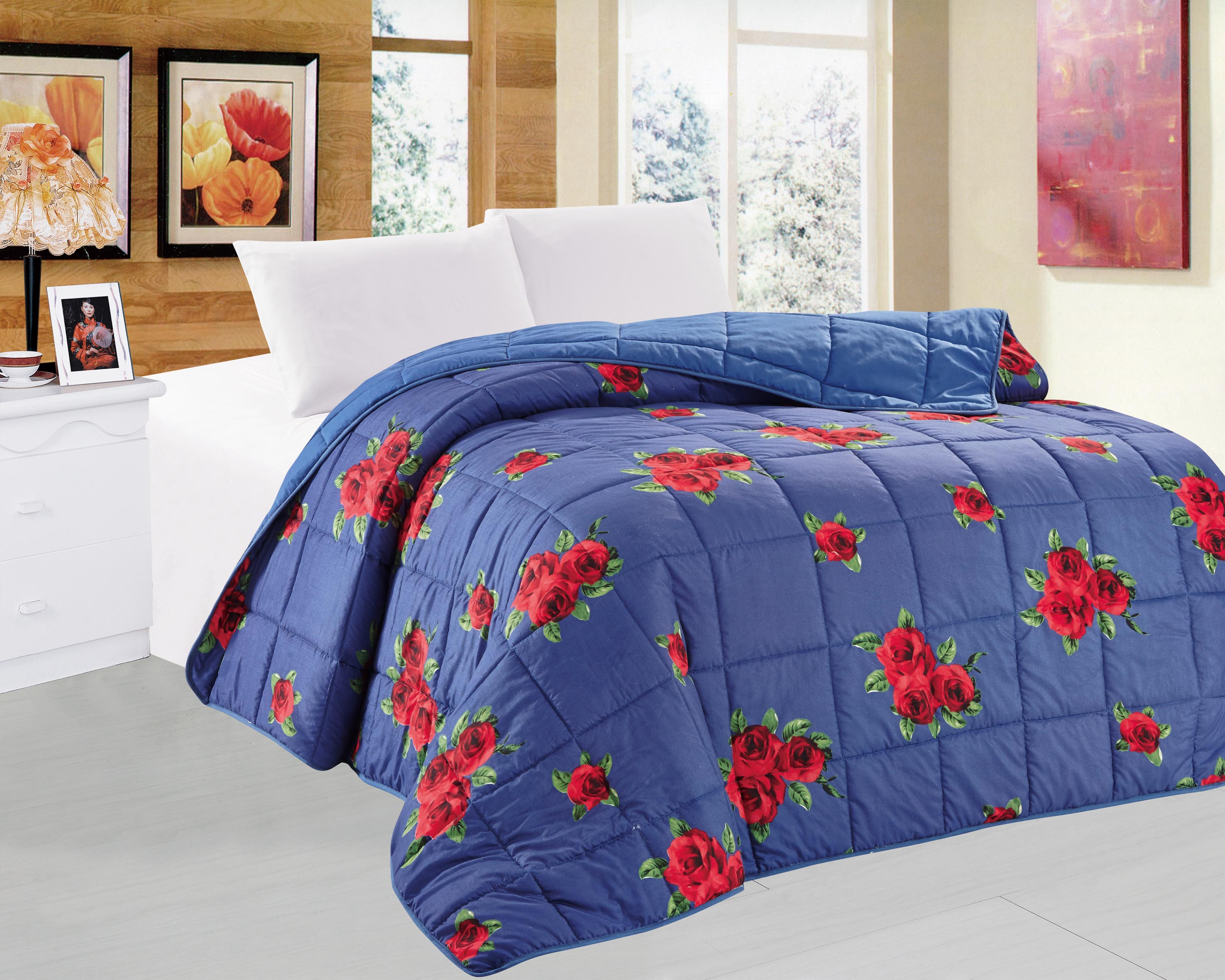 China famous brand double quilts