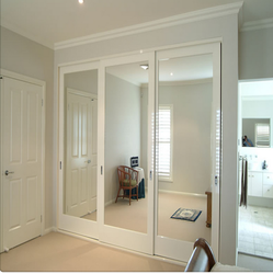 Aluminum interior glass bedroom doors from China