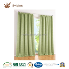 living room set 100% polyester decorated curtain,window curtain,curtain with series of colour for living room