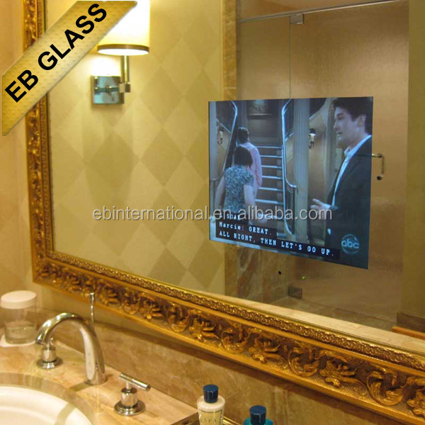 Wall Mount Led Light Bathroom Tv MirrorEb Glass