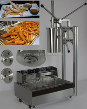 2015 Hot sale Spanish Churro Machine and fryer,churro making machine