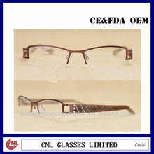 2014 new style glasses frames, spectacle glasses with Pattern