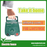 Solar power electric fence equipment for animals(China manufacturer)