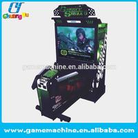 Hot sale brand name video game Coin operated cheap Ghost squad shooting games machine