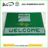rubber back washable rugs,pvc coil welcome mats