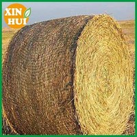 Hdpe Raschel Knitted Round Bale Net Wrap , stretch knit wraps