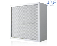 Deep-pleat H10H12H13H14 HEPA Air Filters For central air conditioning