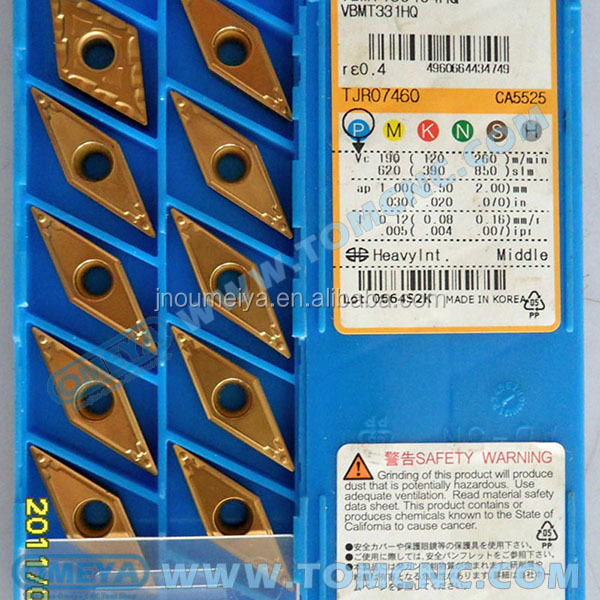 Original Kyocera cnc carbide turning inserts CCMT060204-HQ CA5525