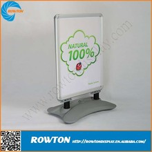 Advertising poster board water base pavement sign a1 a board