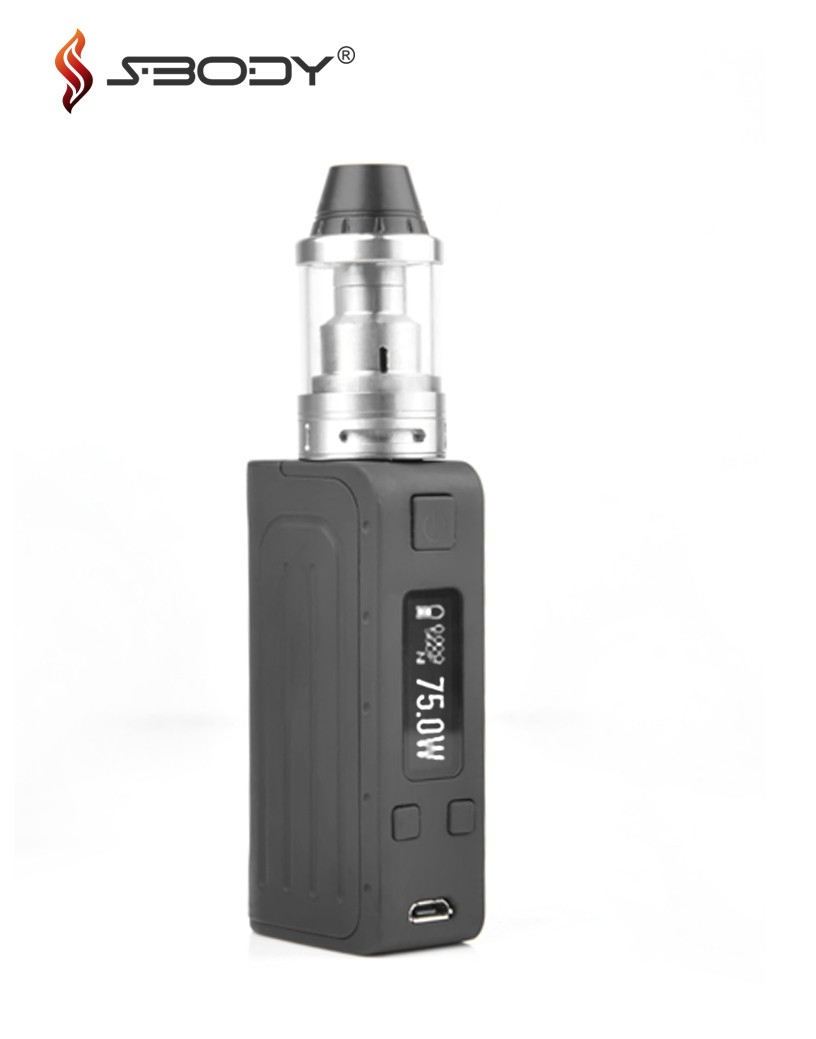 Lowest price S-Body Elfin tank v2 atomizer 22mm with factory price