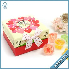 fancy paper sweets packaging boxes