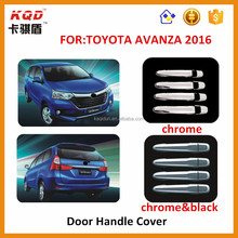 DOOR HANDLE COVER CHROMED FOR TOYOTA AVANZA 2016 BEST SELLING CAR ACCESSORIES