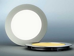 CE ROHS Free Sample 1500lm round led panel light 18w,ultra thin led light panel