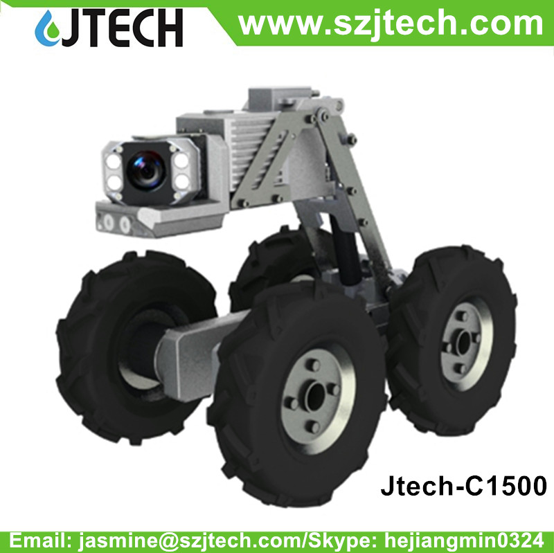 Electric PTZ Drain Inspection Robot drain cleaning machines for sale
