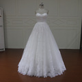 J115 elegant simple lace design cinderella bridal wedding dress gowns