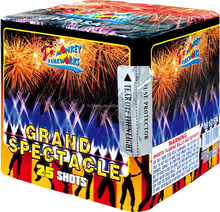 "factory price consumer mutilcolor 0.8"" 25 shots cake fireworks"