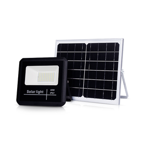 Affordable price and high quality 100w led projector solar flood light for outdoor lighting