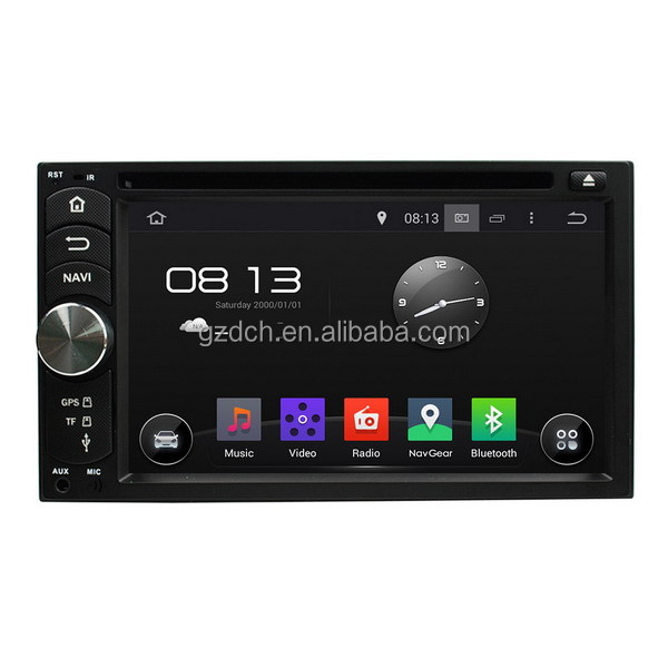 6.2 inch android universal car dvd player RK3188 quad core 1G+16G WS-6400