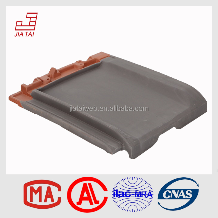 Building materials decorative natural flat clay roof tiles