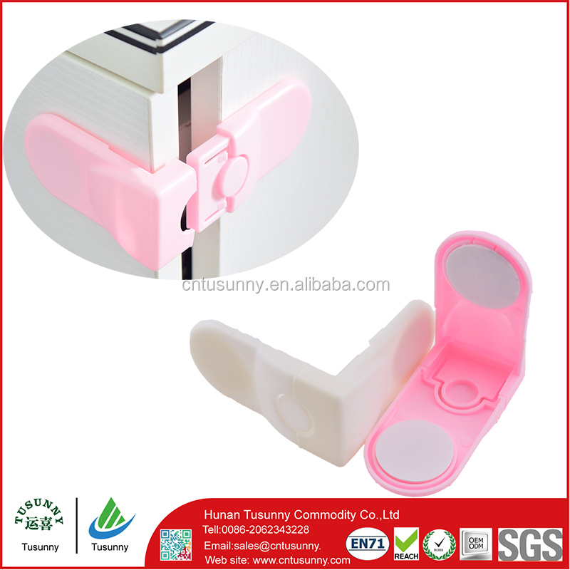 Baby safety product Baby child safety plastic cupboard locks