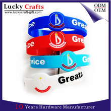 Custom basketball ink filled fashionable silicone embossing wristband for sports