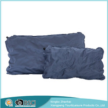 Travel waterproof outdoor self inflating pvc inflatable body pillow, car neck rest pillow, neck roll pillow