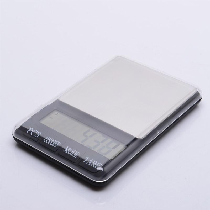 3000G 0.1G AAA Battery Jewellery Weighing Scales