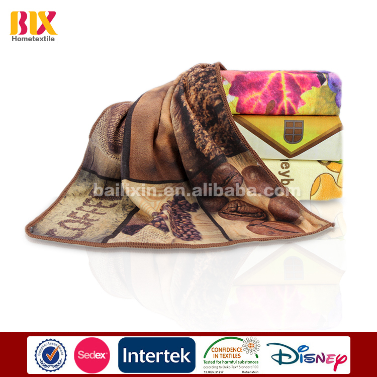 customer printed kitchen towel high quality microfiber kitchenTowel wholesale china
