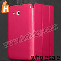 2014 New Case Cover For Samsung Galaxy Tab 3 Lite T110/T111 KLD OSCAR Series Smart Wake Sleep Foldable Flip Stand Leather Case
