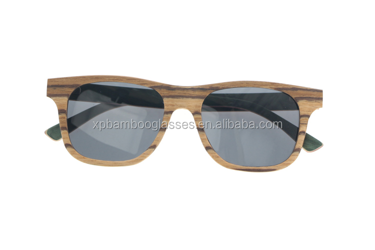 Wholesale Custom Brand Designers Polarized UV 400 Wooden Woman Sunglasses