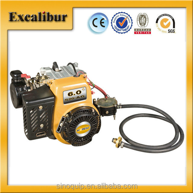 made in china S20G LPG engine S20G 6hp liquefied petroleum gas