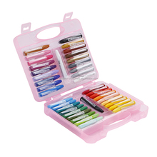 wholesale art supplies non-toxic oil pastel crayon of school portable stationery set