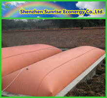 Anaerobic fermentation biogas from vegetable waste project system