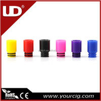 UD delrin drip tip for vaping multiple colors wholesale in stock