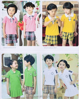 OEM design lovely and many style kindergarten school uniforms