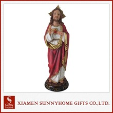 High Quality China Wholesale Cheap Resin Jesus Religious Statue